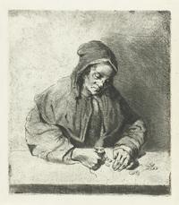 Vrouw die geld telt Public Domain - https://www.rijksmuseum.nl/nl/collectie/RP-P-1887-A-11699