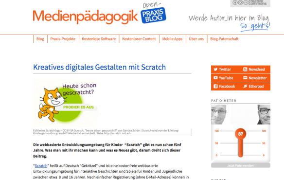 CC BY-SA Medienpädagogik Praxisblog