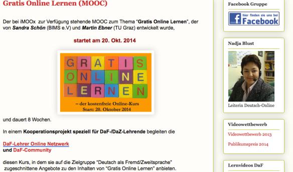 Quelle: Screenshot (c)  http://livedeutsch.blogspot.de/2014/09/gratis-online-lernen-mooc.html