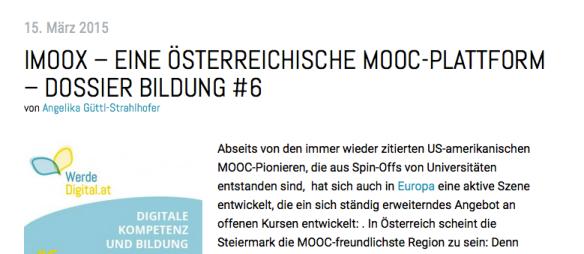 (C) Werde.digital.at https://www.werdedigital.at/2015/03/imoox-eine-oesterreichische-mooc-plattform/