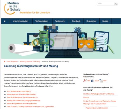 CC BY SA fsm, fsf und Google (Medien in die Schule), URL: http://www.medien-in-die-schule.de/werkzeugkaesten/werkzeugkasten-diy-und-making/einleitung-werkzeugkasten-diy-und-making/; URL zur Lizenz: http://creativecommons.org/licenses/by-sa/4.0/deed.de