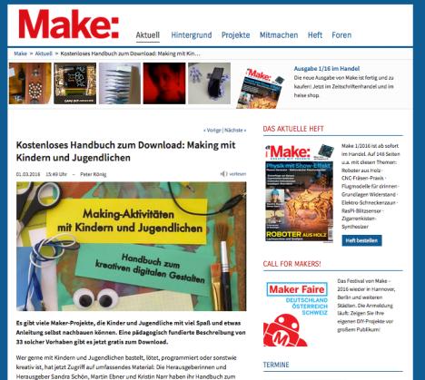 (c) MAKE / heise.de - URL: http://www.heise.de/make/meldung/Kostenloses-Handbuch-zum-Download-Making-mit-Kindern-und-Jugendlichen-3121647.html