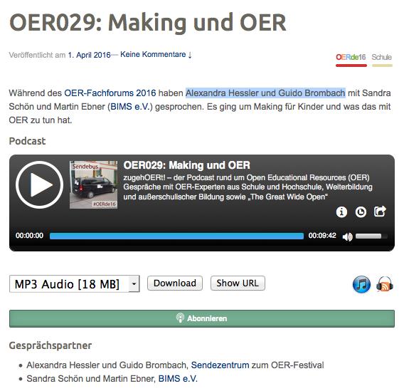 (C) zugehOERt - URL: http://open-educational-resources.de/oer029-making-und-oer/#t=9:42.504